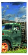 Farm Stand Truck Bath Towel