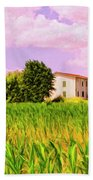 Farmhouse In Tuscany Bath Towel