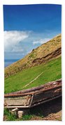 Farming In Azores Islands Bath Towel