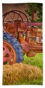 Farming In Hanksville Utah Bath Towel