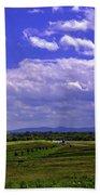 Farmland In Gettysburg Version II Bath Towel