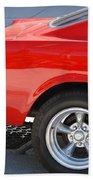 Fastback Mustang Bath Towel