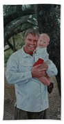 Father And Son Hand Towel