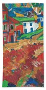 Fauvism Hand Towel