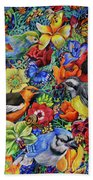 Feathered Foliage Bath Towel
