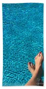 Feet Around The World #19 Hand Towel