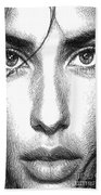 Female Expressions 936 Hand Towel
