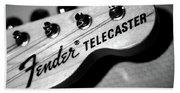 Fender Telecaster Bath Towel