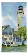 Fenwick Island Lighthouse Bath Sheet