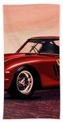 Ferrari 250 Gto 1962 Painting Bath Towel