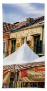 Festival New Orleans Seafood - French Quarter Bath Towel