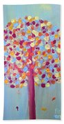 Festive Tree Bath Towel