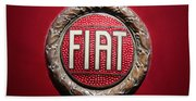 Fiat Emblem -1621c Bath Towel