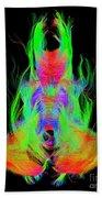Fiber Tracts Of The Brain, Dti Bath Towel