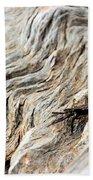 Fiddler Crab On Driftwood Bath Towel