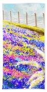 Field Of Blue - Bluebonnet Art Bath Towel