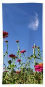 Fields Of Glory Hand Towel by Valeria Donaldson