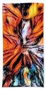 Fiery Crystal Bath Towel