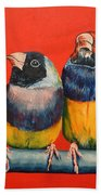 Finches Bath Towel