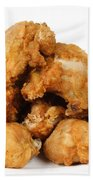 Fine Art Fried Chicken Food Photography Bath Towel