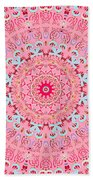 Fine China Kaleidoscope Bath Towel by Joy McKenzie