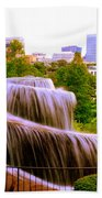 Finlay Park Fountain Summertime Bath Towel