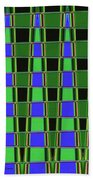 Fir Tree Fork Abstract #7075 Bath Towel