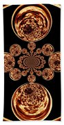 Fire Design Bath Towel