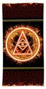 Fire Emblem Sigil Hand Towel by Shawn Dall