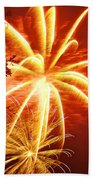 Fire In The Trees Bath Towel