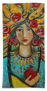 Fire Of The Spirit Bath Towel