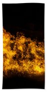 Fire On The Water Bath Towel