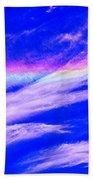Fire Rainbow Bath Towel