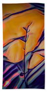 Fire Ring Sunset Hand Towel