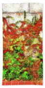 Fire Thorn - Pyracantha Bath Towel