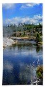 Firehole River Yellowstone Bath Towel
