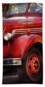 Fireman - The Garwood Fire Dept Bath Towel
