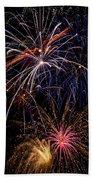 Fireworks Celebration  Bath Towel
