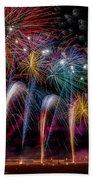 Fireworks Line Bath Towel