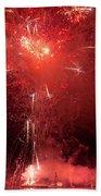 Fireworks Over Humboldt Bay Bath Towel
