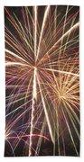 Fireworks Bath Towel