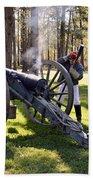 Firing The Cannon Bath Towel