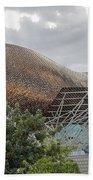 Fish By Frank Owen Gehry - Olympic Village - Barcelona Spain Bath Towel