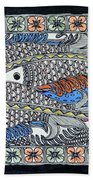Fish Group Bath Towel