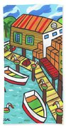 Fish House-cedar Key Hand Towel
