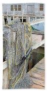 Fish Net Bath Towel