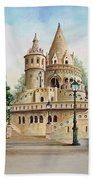 Fisherman Castle Bath Sheet by Charles Hetenyi