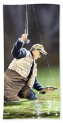 Fisherman II Bath Towel