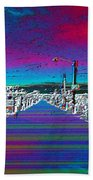 Fishermans Terminal Pier Bath Towel