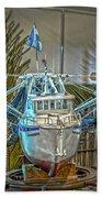 Fishing Boat Hdr 1 Bath Towel